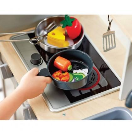 Hape Deluxe Kitchen with Fan Fryer HP3177