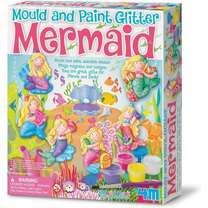 4M Mould & Paint - Glitter Mermaid